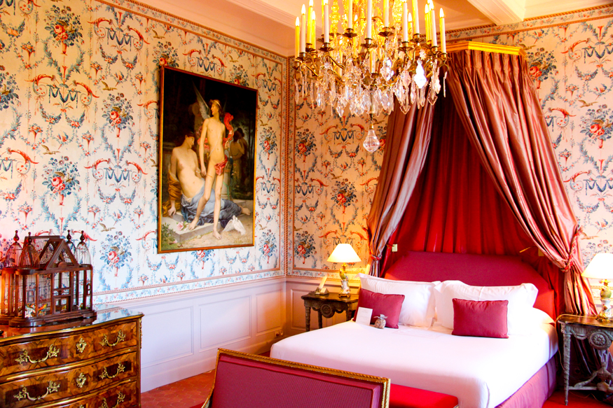 Nuestros aposentos, la suite Pierre Robineau de Beaulieu.