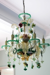Araña de Murano de Villa Baulieu.