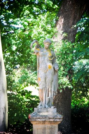 Los románticos jardines de Villa Baulieu.