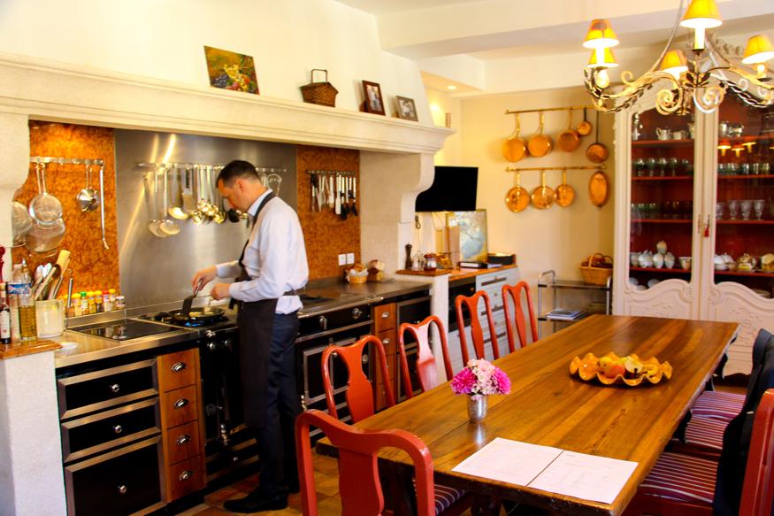 Taller de cocina exclusivo a cargo de monsieur David.