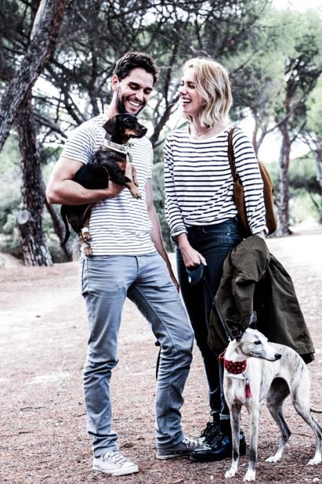 Lulú, Adrián, Lora y Mollie.