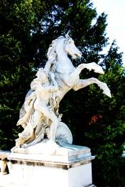 Esculturas en la plaza de María Teresa o Maria-Theresien-Platz.