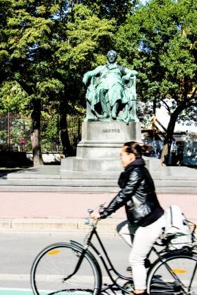 Monumento Goethe.