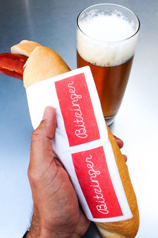 Bitzinger, el mejor puesto de salchichas de Viena. Un must go!