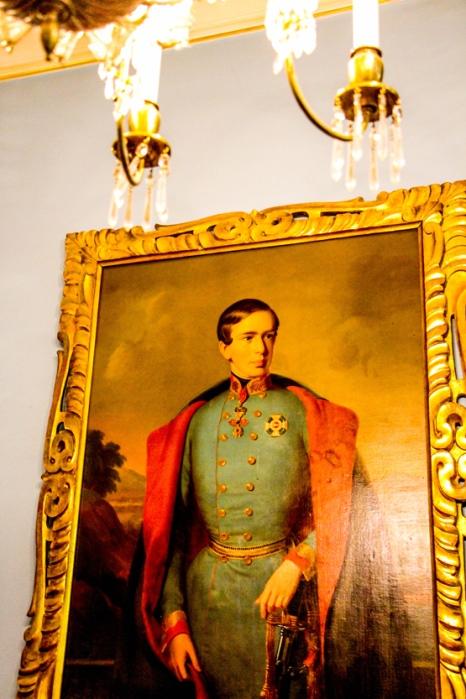 El Emperador en Demel Chocolatiers 1786.