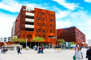 Nuevo campus de la Universidad de Economía.