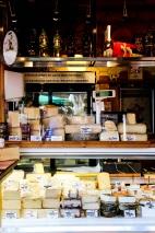 Casa de quesos en Naschmarkt.