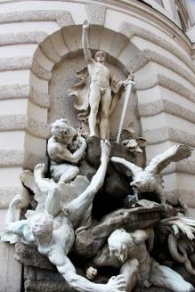 Esculturas de Albertinaplatz.