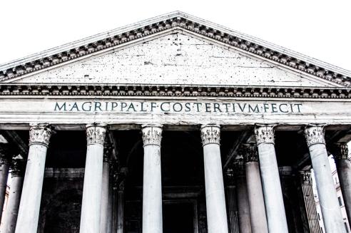 El Panteón de Agripa.