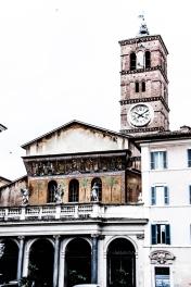Basílica de Santa Maria in Trastevere.