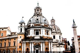 De camino al aeropuerto, la basílica de San Marco.