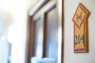 Número personalizados de las habitaciones.