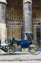 Los carruajes son un hito de Viena, todos se concentran en la catedral de San Esteban.