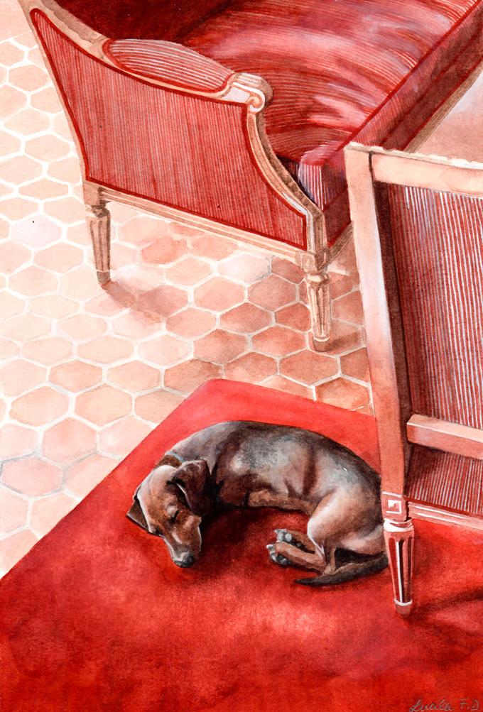 Eros en Villa Baulieu por Lulu Figueroa Domecq.