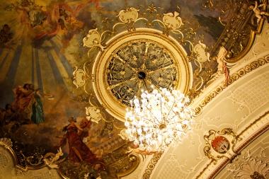 Landestheater, el coqueto teatro de Salzburgo.