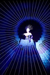 La Reina de la Noche en el Aria: Der Hölle Rache kocht in meinem Herzen.