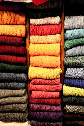 Calcetines para los trajes regionales.