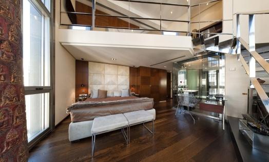Suite loft del Hotel Urban.