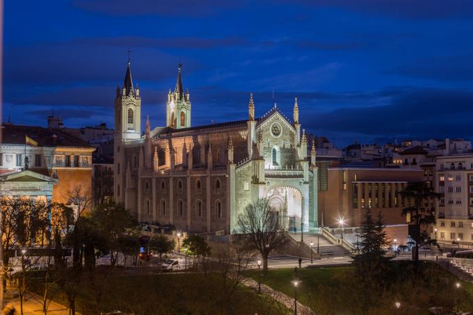 Iglesia de Los Jerónimos.