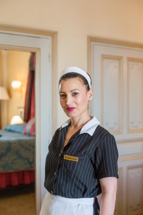 Catalina Pencuic, doncella.