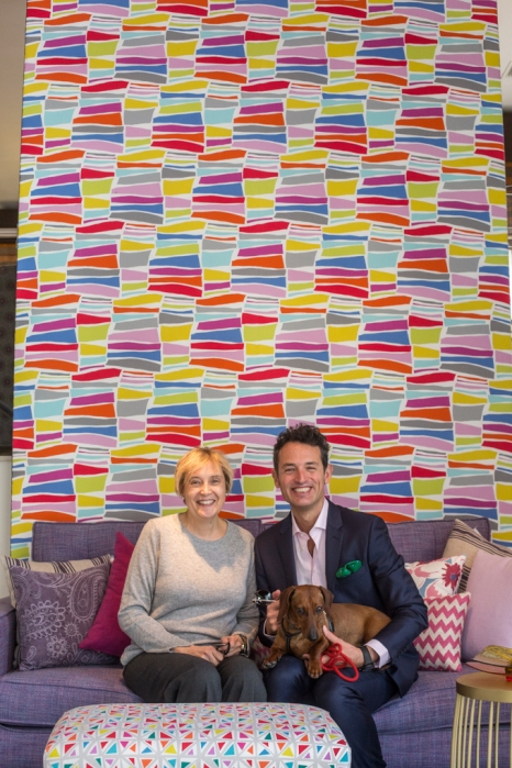 Con Beatriz Gancedo en su flagship store de Madrid.