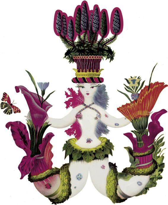 La sirena, el emblema de Carthusia.