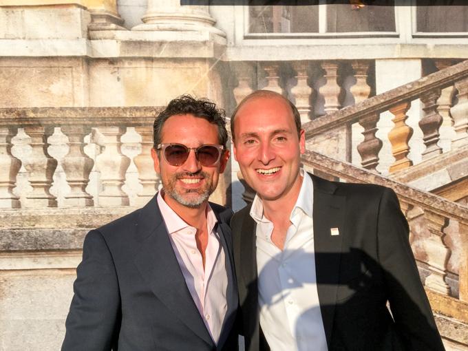 Con el encantador Florian Wiesinger de Wien Tourismus (Viena).