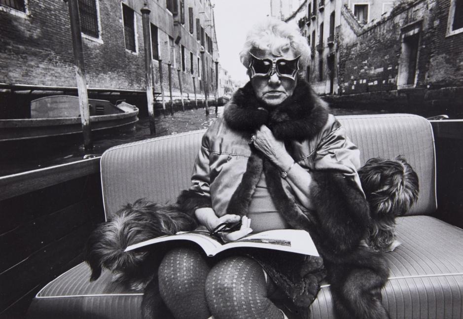 Stefan Moses, Peggy Guggenheim, Venedig. Copy: Lempertz.com