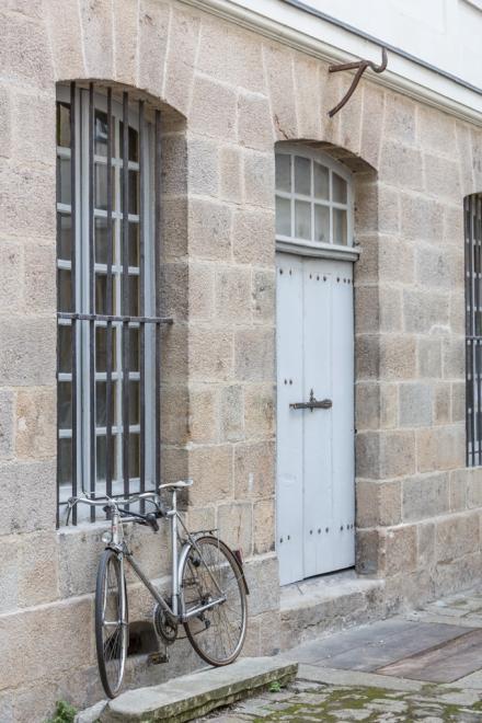 Bicicleta de un estudiante o de un profesor.