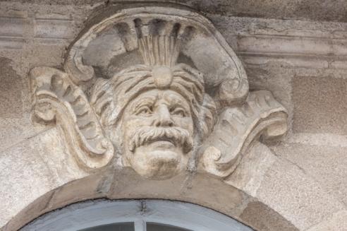 Un pirata, fue un recurso decorativo exótico de la época.