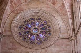 Rosetón de la catedral de Sigüenza.