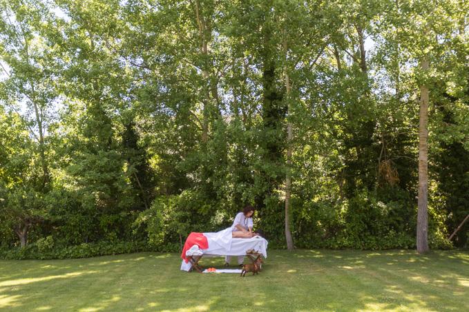 Experiencia personalizada en los jardines del MOLINO DE ALCUNEZA.