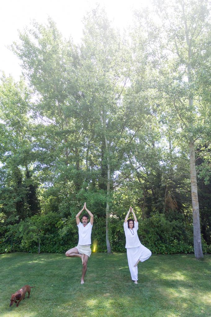 El árbol, mi postura favorita.