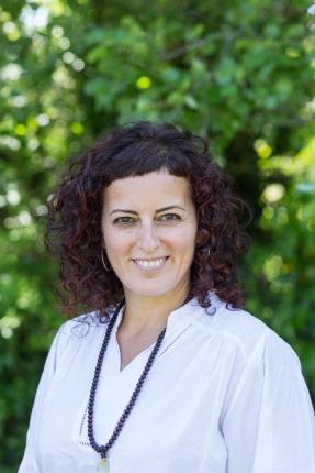 Belén Andreu, profesora de yoga y masajista.