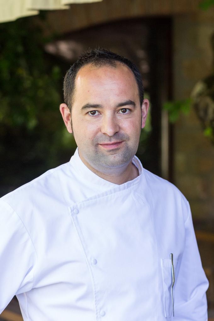 Samuel Moreno, el chef de MOLINO DE ALCUNEZA.