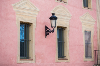 Fachada del Palacio de Quintanar.