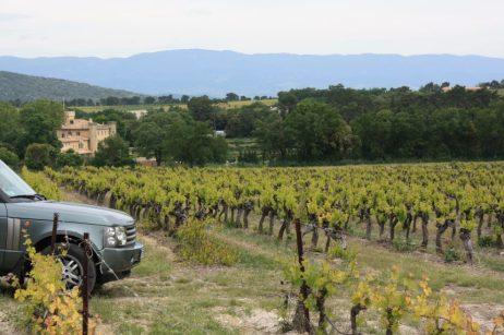 Wine Safari por la propiedad de la familia Guenant.