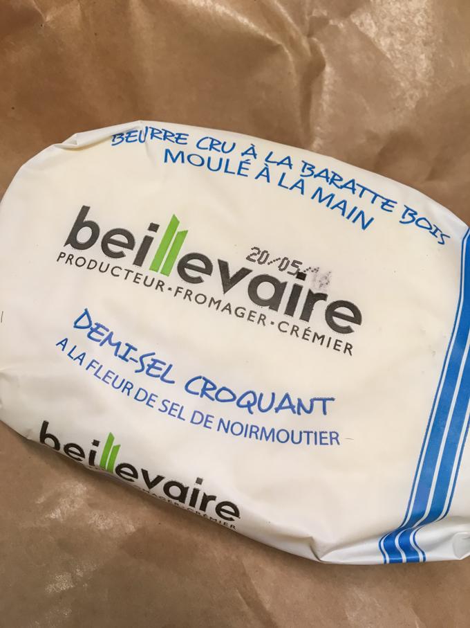 La casa Beillevaire crea, probablemente, la mantequilla más rica del mundo.