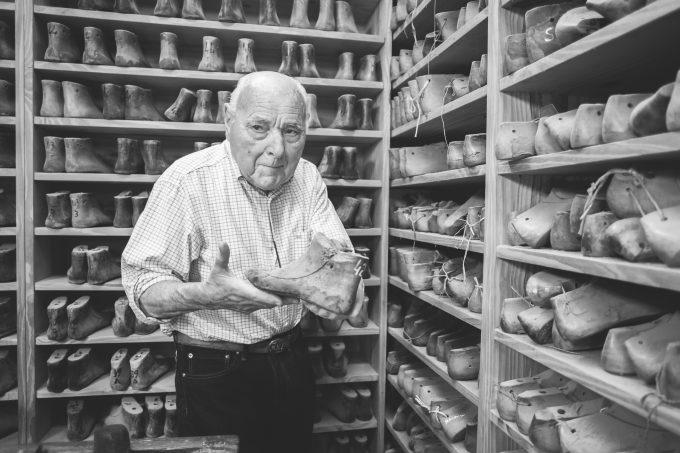 El maestro Rodolfo Fagliano, el mayor de la familia.