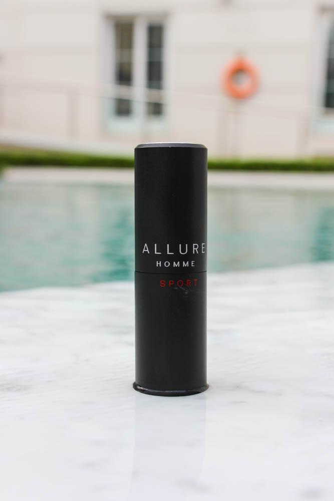 Para cada día elijo un perfume, hoy me acompañó Allure Homme Sport de CHANEL.