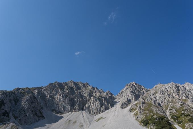 A los pies de la alta montaña en Nordkette, la Joya de los Alpes.