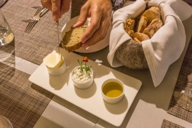 Me fascina el pan artesanal del Tirol y su mantequilla.