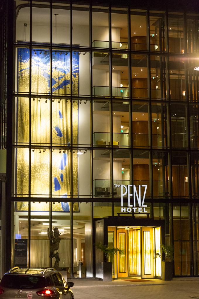 El hotel The Penz.