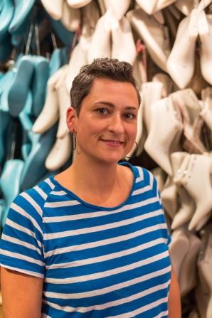 Diseñadora de calzado y propietaria de SaSch Shoefactory Bags & Shoes.