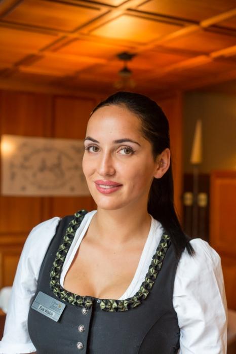 Mi camarera del hotel Innsbruck.