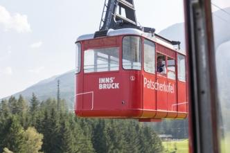 Funicular Patscherkofelbahnen.