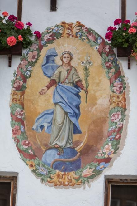 Fresco de la casa tirolesa.