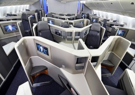 Cabina de Business Class 700 200. Foto: American Airlines.