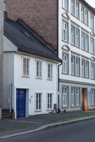 Una de las callejuelas de Grünerløkka.