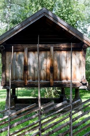 Otra de las construcciones antiguas de madera.